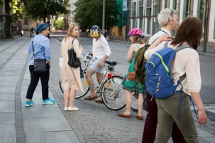 "Walk: ""An Investigation Into a Walk"" by Stephanie Felber. Photo: Zane Cerpina."